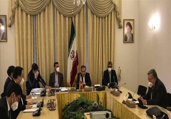 نشست سه جانبه مذاکره کنندگان ارشد ایران، روسیه و چین در وین