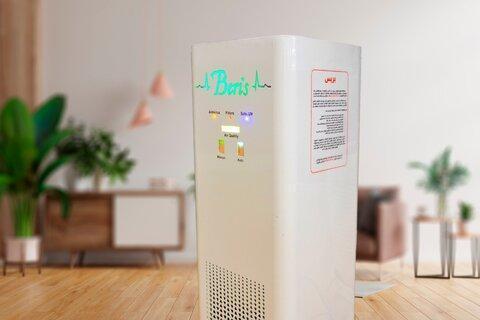 دستگاه پالایش هوا با فیلترهای بومی پسازی شده برای اولین بار در کشور طراحی شد