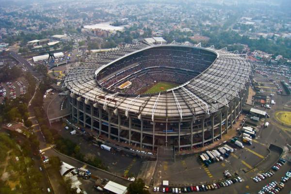 ورزشگاه آزتیکا مکزیک، ورزشگاه فینال های جام جهانی