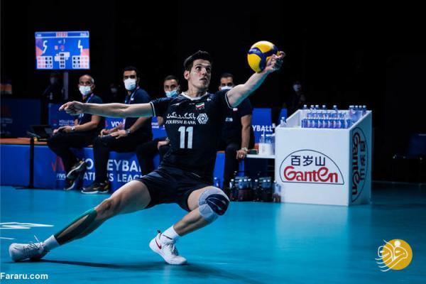 والیبال ایران چه رتبه ای در جدول لیگ ملت ها دارد؟