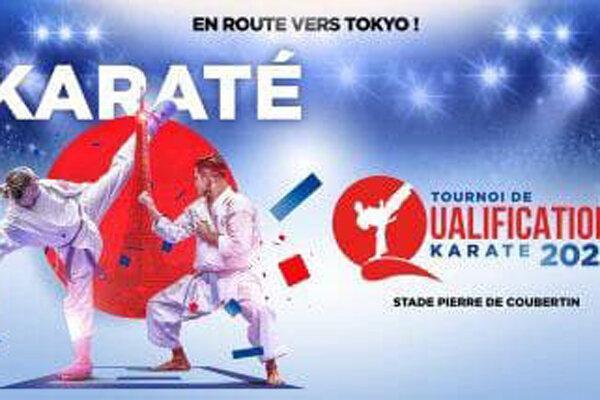 چهار کاراته کای ایران 17 خردادماه به پاریس می فرایند