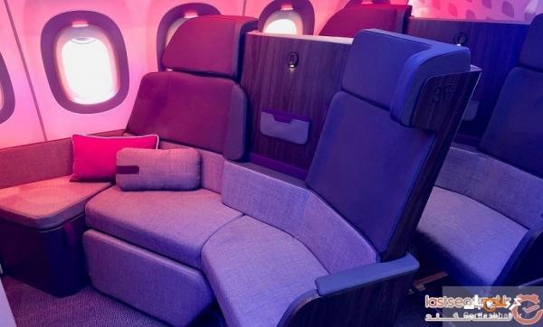 تصاویر، پرده برداری شرکت هواپیمایی ایرباس از جایگاه های درجه بیزینس کلاس