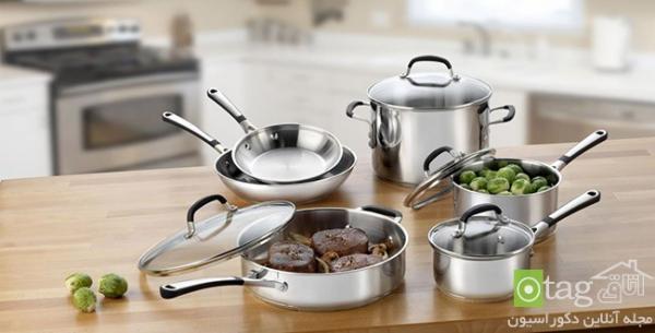 مدل های تازه و بسیار شیک ظروف استیل آشپزخانه ، عکس 2016
