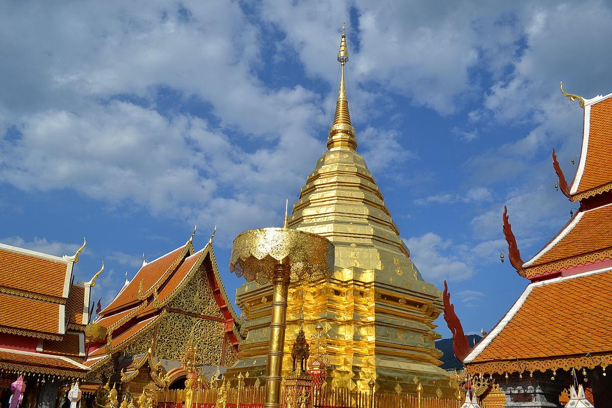 معبد Phrathat Doi Suthep