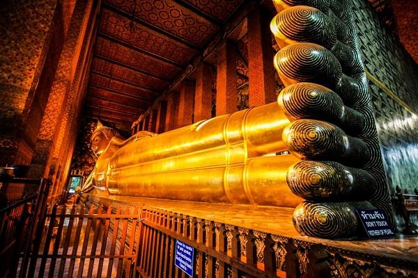 معبد بودای خفته در تایلند